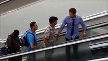 Güldüren yürüyen merdiven kazaları - Funny Video - video Droles