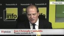 TextO' : Référendum - Jean-Christophe Cambadélis (PS) : «Entre 200 et 300 000 votants, ce n'est pas inatteignable»