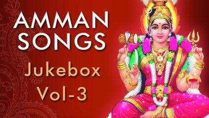 Amman Devotional Songs Jukebox - Vol 3 - Navarathri Special Video Songs