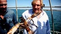 """Bande-annonce du documentaire """"À pleines dents !"""" avec Depardieu"""