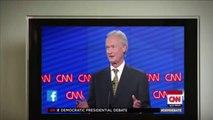 Donald Trump And Ben Carson Watch Democratic Debate