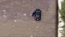 Coulées de boue spectaculaires en Californie