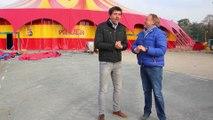 Le cirque Pinder 2015 arrive à la pelouse de Reuilly Paris 12ème Bois de Vincennes Rencontre avec son directeur technique Claude Vonner