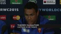 Rugby - CM - Bleus : Dusautoir «On a préparé le match en équipe»