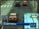 Las infracciones de tránsito más impactantes de la semana
