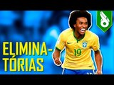 GOLS DA ZUEIRA - ELIMINATÓRIAS DA COPA #2