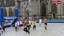 Quimper. Tro Breiz Rugby : les scolaires initiés au rugby sans contact