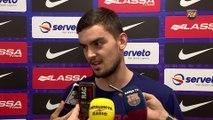 FCB Lassa (Bàsquet): Tomas Satoransky i Samardo Samuels valoren el pròxim partit contra Baloncesto Sevilla