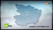 METEO OCTOBRE 2015 [S.10] [E.17] - Météo locale - Prévisions du samedi 17 octobre 2015