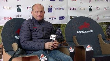 Mondial du Lion 2015 : Interview de Michael  JUNG (GER)