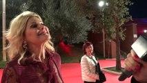 Festa del Cinema di Roma: Patrizia Pellegrino sul red carpet per la prima di Truth