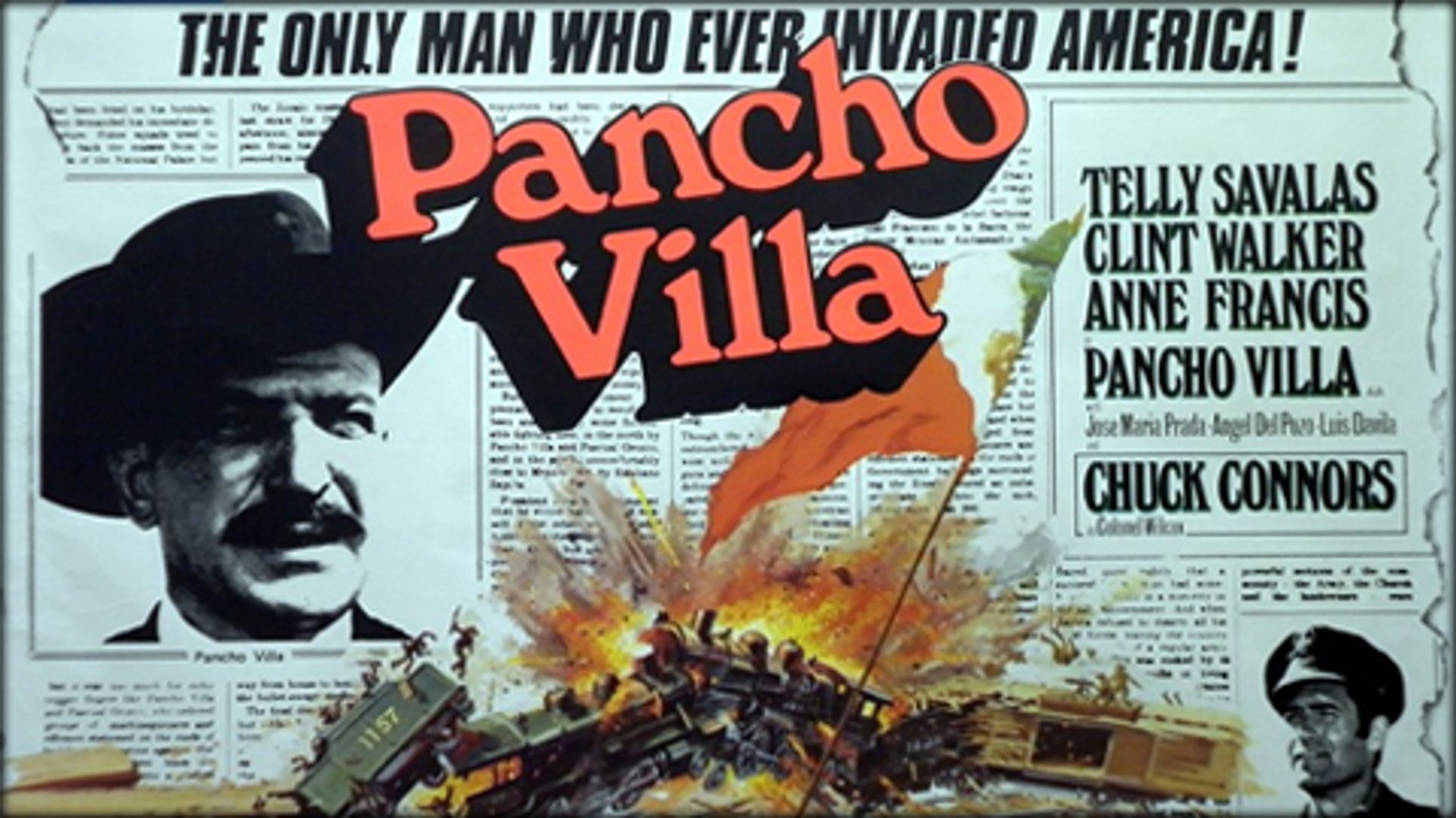 Pancho Villa (1972) - (Biography, Drama, Western) [Telly Savalas ...