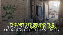 "The Artists Who Infiltrated Messages That Debunked ""Homeland"" Explain Their Motives"