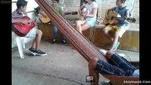 Musica Entre Amigos Cuatro Joves Cantan Canciones Tocando Sus Guitarras Talento Mexicano Octubre 2015