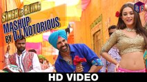Singh Is Bliing: Mashup by DJ Notorious - Singh Is Bliing [2015] FT. Akshay Kumar & Amy Jackson [FULL HD] - (SULEMAN - RECORD)