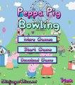 Peppa Pig | Peppa va de bolos | Pelicas completas para ninos en Español | Bowling