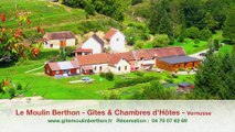 Chambres d'Hôtes - Allier en Auvergne à Vernusse - Le Moulin Berthon Gites et Chambres