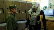 Un masque de plongée militaire qui permet de rester 2h sous l'eau