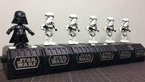 Dark Vador et 5 Stormtroopers dansent - Star Wars Space opera
