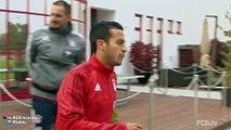 Thiago Alcantara fantastic skills in Bayern Munich training 2015
