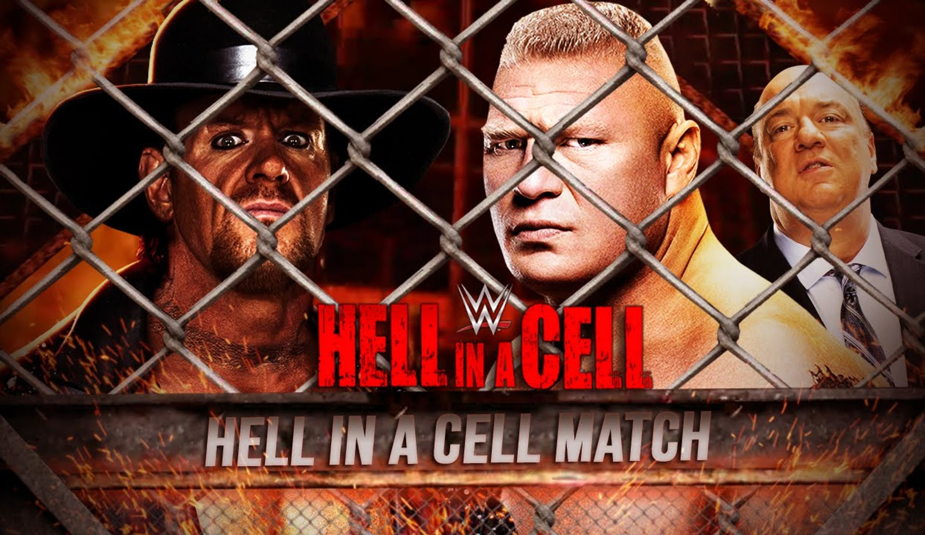 WWE Hell in a Cell 2015 - Promo - Undertaker vs Brock Lesnar
