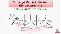 Mechanism of Nucleophilic Substitution Reaction ( Nucleophilic Substitution Biomolecular Sn2 )