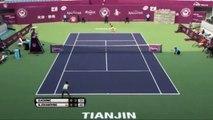 Danka Kovinić vs Bojana Jovanovski - pobjednički poen Danke za finale WTA turnira u Tianjin 2015