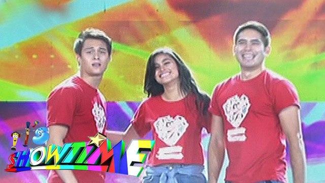 It's Showtime: Liza, Enrique, Gerald show dance moves