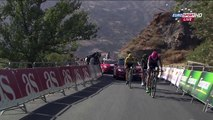 [CRASH] [TEAM Europcar] Jérôme Cousin fall in last KM of La Vuelta 2015 - Stage 07