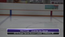 Super Series Autumn Leaves - Rink 2- STAR 5 Boys, Ice Dance Events