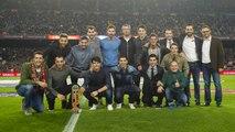 FCB Hoquei: Celebració al Camp Nou i valoracions post partit
