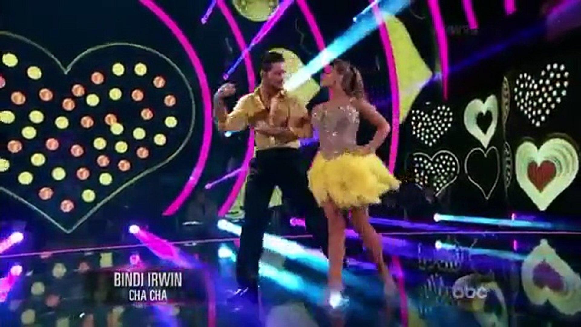 Bindi Irwin Vals Cha Cha Dancing With The Stars Week 5 Dwts Season 21