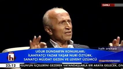 Halk TV'de Yaşar Nuri Öztürk, Müjdat Gezen küfürler yağdırdılar