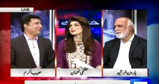 Habib Akram keeps on defending MQM & Haroon Rashid keeps on bashing him