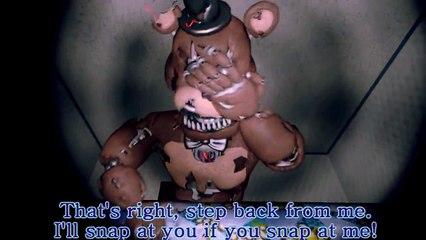 [SFM FNAF] Five Nights at Freddys 4 Rap song We Dont Bite Animation