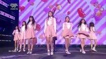 151016 Lovelyz (러블리즈) - Ah-Choo (아츄) @ 뮤직뱅크 Music Bank Sky Festival [1