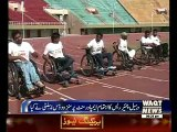 Sports Competition for Handicap in Islamabad Sport Complex