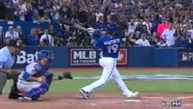 Take a look at Jose Bautistas epic bat flip after his 3-run homer gave Blue Jays lead