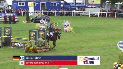 Michael Jung and Fischerincantas winners Mondial du Lion 6yo