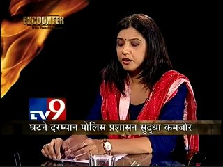 BJP MP Satyapal Singh's Encounter with Preeti Sompura-TV9/Part2