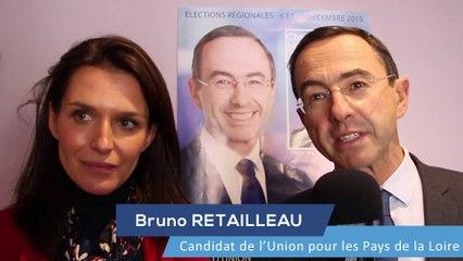 Présentation de la liste de Bruno RETAILLEAU dans la Sarthe