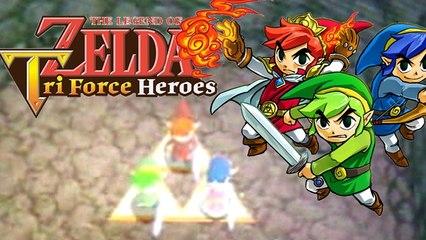 Lets Play - Zelda Triforce Heroes Online (DEMO) Lets Test