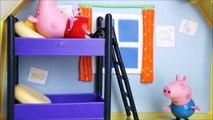 Pig George da Família Peppa Pig Ganha um Quarto Novo!! Em português Brinquedos Toys Comp