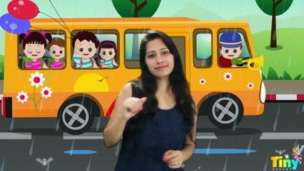 The Wheels On The Bus | Kids Nursery rhymes | Songs for Kids