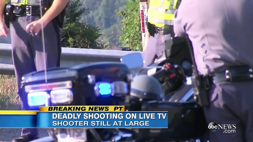 Bryce Williams Shoots Reporter, Cameraman on Live TV in Virginia