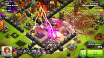 Clash Of Clans NEW SPELL(ALL EARTHQUAKE SPELL RAID!?/MURDERING CRAZY HEROES?!)SO MANY SPEL