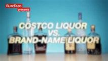 Costco Liquor Vs. Brand Name Liquor Blind Taste Test