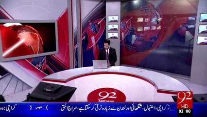 Headlines - 02:00 AM – 19 Oct 15 - 92 News HD