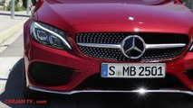 Mercedes C Class Coupe 2016 INTERIOR Review Engine Start Driving C250 C300 Coupe CARJAM