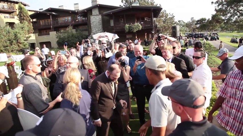 Barack Obama Crashes California Wedding